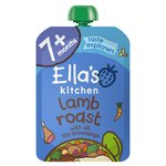 Ella's Kitchen 7 Mths+ Organic Lamb Roast Dinner