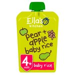 Ella's Kitchen Organic Pears, Apples & Baby Rice