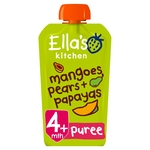 Ella's Kitchen 4 Mths+ Papayas, Mangoes & Pears