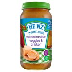Heinz 7 Mths+ Mum's Own Mediterranean Veggies, Chicken & Sweet Potato