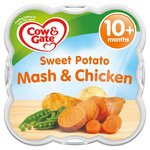 Cow & Gate Steam Sweet Potato Mash with Chicken Steamed Meal