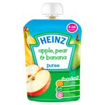Heinz 4 Mths+ Smooth Apple, Pear & Banana