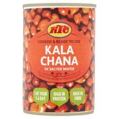 KTC Brown Chana in Salted Water(400g)