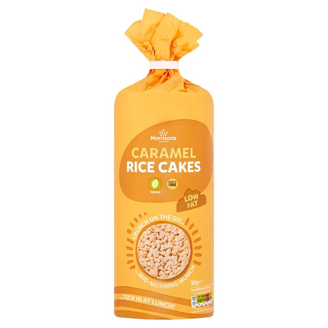 Morrisons Caramel Rice Cakes