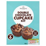 Morrisons Double Chocolate Cupcake Kit