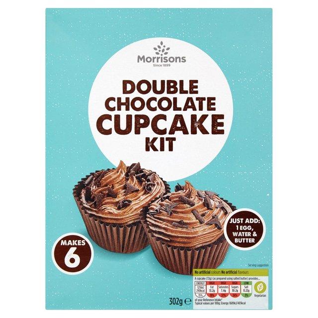 Morrisons Double Chocolate Cupcake Kit