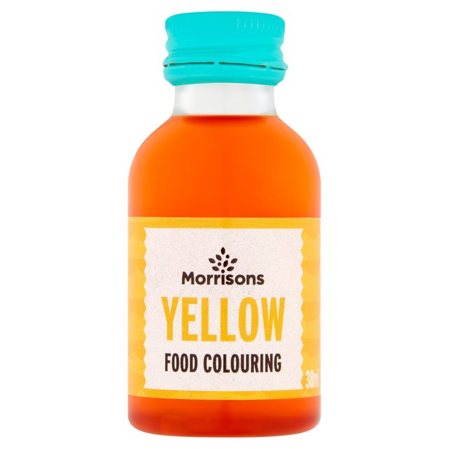 Morrisons: Morrisons Natural Yellow Food Colouring 38ml(Product ...