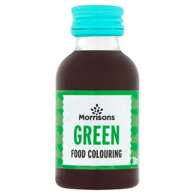 Morrisons Natural Green Food Colouring