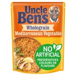 Uncle Ben's Express Wholegrain & Mediterranean Vegetable Rice