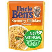 Uncle Ben's Savoury Chicken Microwave Rice