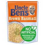 Uncle Bens Brown Basmati Microwave Rice