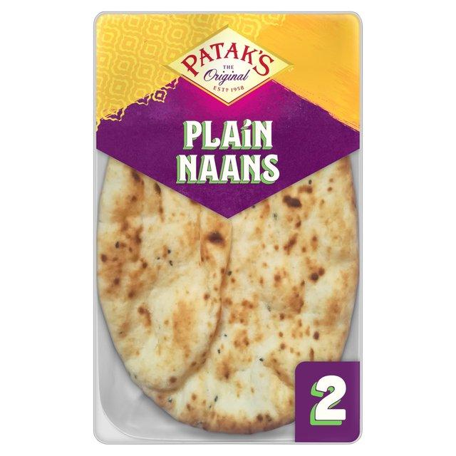 Patak's Plain Naans