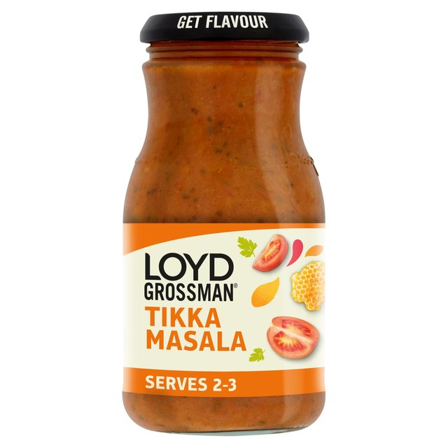 Loyd Grossman Tikka Masala Medium Curry Sauce