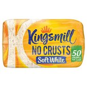 Kingsmill Soft White No Crusts Loaf