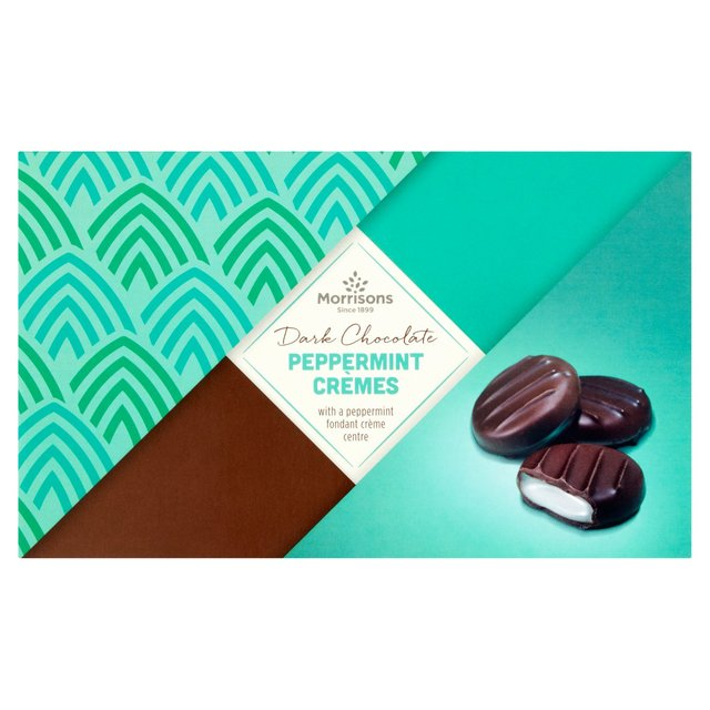Morrisons Dark Chocolate Peppermint Cremes