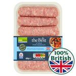 Morrisons The Best Thick Pork Sausages