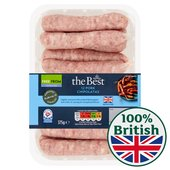 Morrisons The Best Pork Chipolatas 12 Pack
