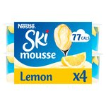 Ski Lemon Meringue Mousse