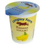 Longley Farm Banana Yogurt
