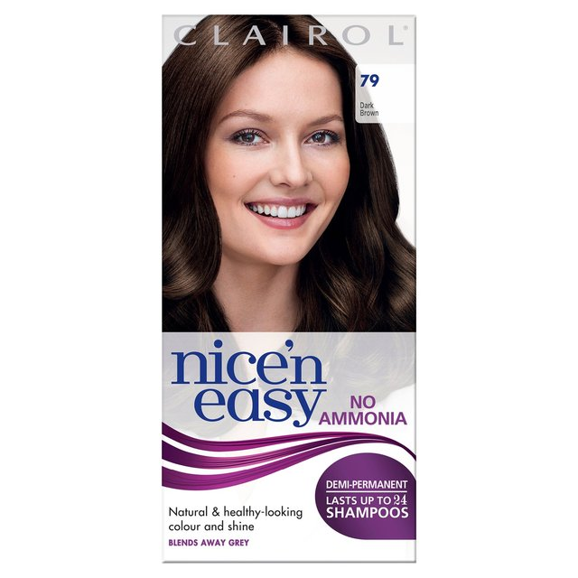 Morrisons nicen easy non permanent colour dark brown 79 hair dye nicen easy non permanent colour dark brown 79 hair dye solutioingenieria