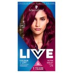 Schwarzkopf LIVE Intense Colour + Lift L76 Ultra Violet Hair Dye