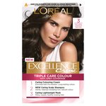 L'Oreal Excellence Creme Natural Darkest Brown 3