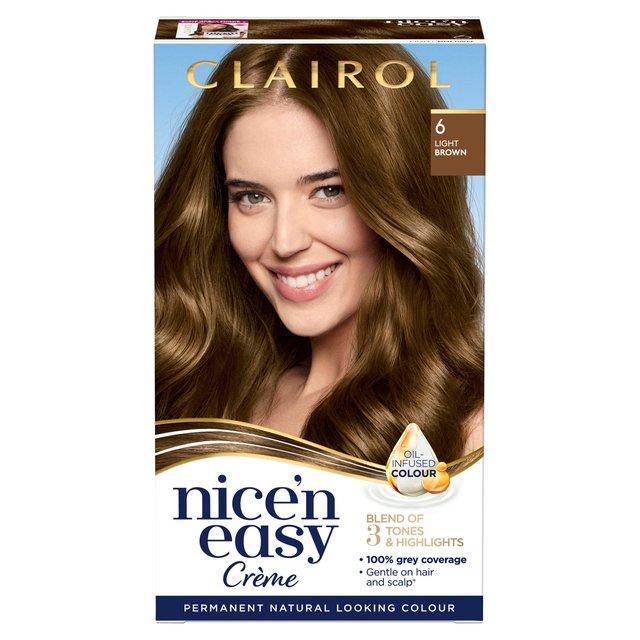 Nice 'N Easy Permanent Colour 116 Natural Light Brown Hair Dye