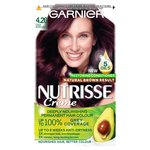 Garnier Nutrisse Creme Permanent Nourishing Hair Colour Blackcurrant 4.26
