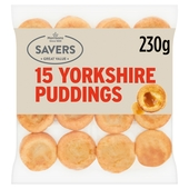M savers 15 Yorkshire Puddings