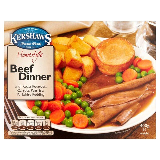 Kershaws Homestyle Beef Dinner