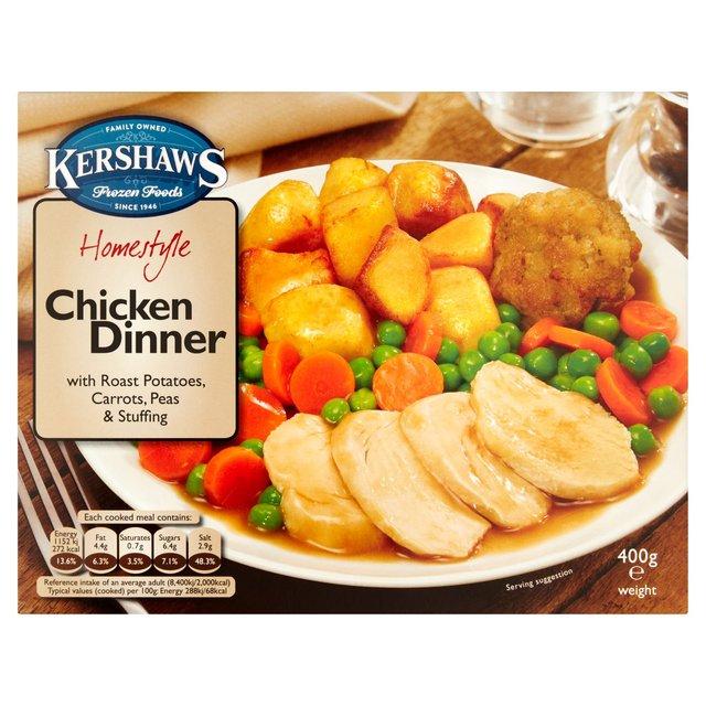 Kershaws Homestyle Chicken Dinner