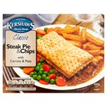 Kershaws Classic Steak Pie & Chips