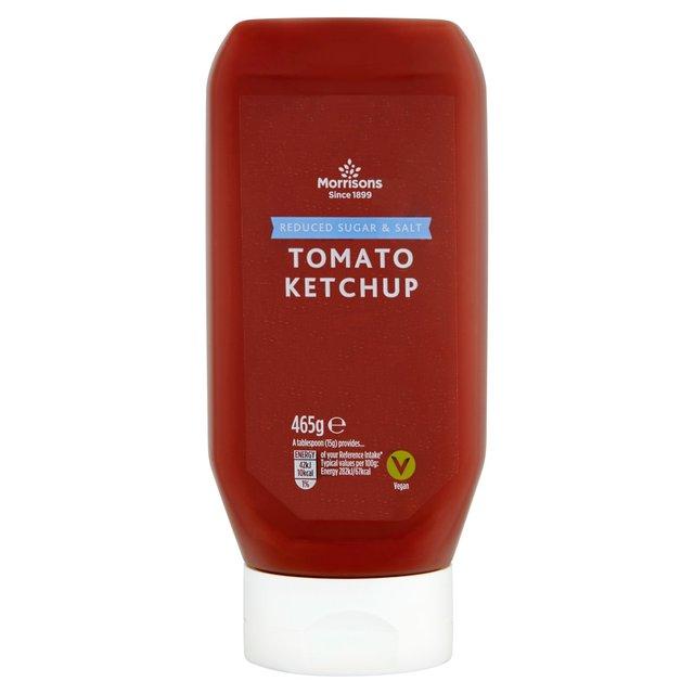 Morrisons Reduced Sugar & Salt Tomato Ketchup