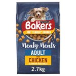 Bakers Meaty Meals Adult Dog Food Chicken