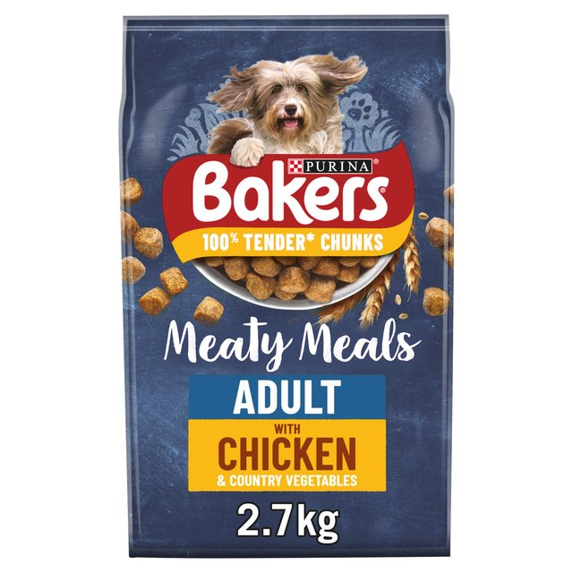 Bakers Meaty Meals Adult Complete Dog Food Chicken