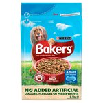 Bakers Adult Dog Food Beef and Vegetable
