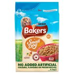 Bakers Complete Small Dog Food Beef and Vegetable
