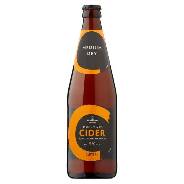 Morrisons Cider Bottle