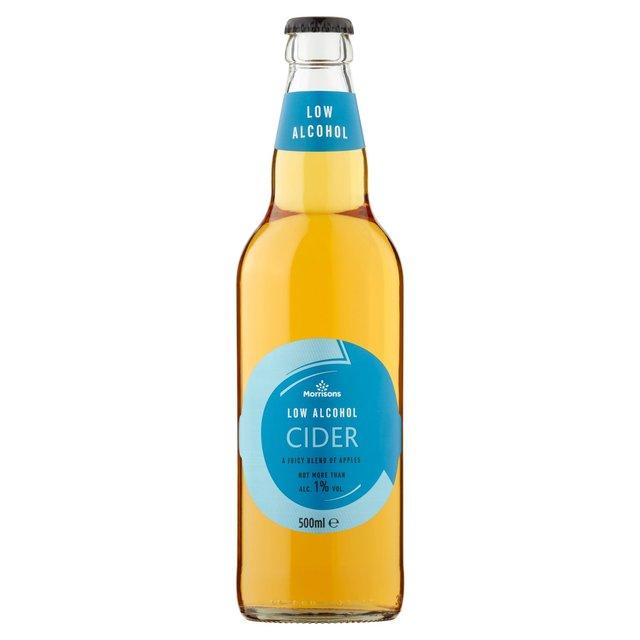 Morrisons Low Alcohol Cider Bottle