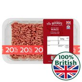 Morrisons British Minced Beef 20% Fat