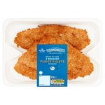 Morrisons Breaded Plaice Fillets