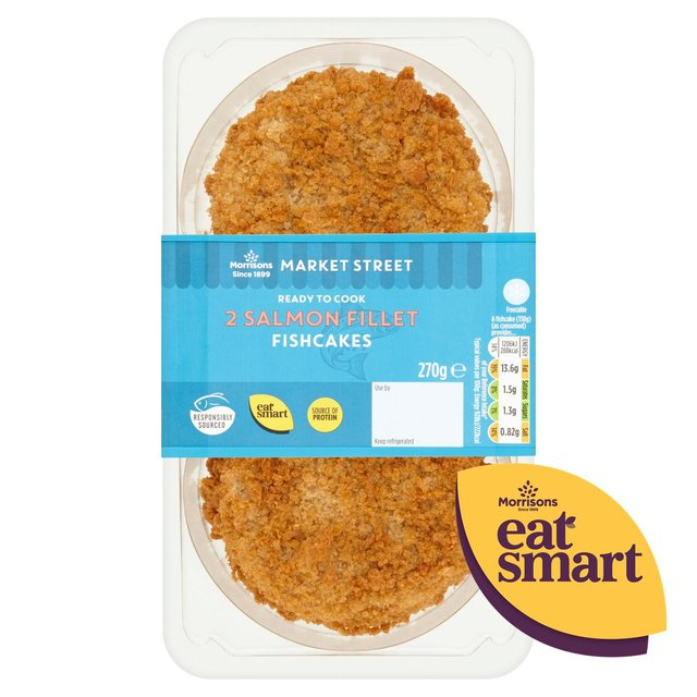 Morrisons Fishmonger Salmon Fishcakes