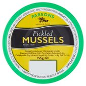 Parson's Pickled Mussels