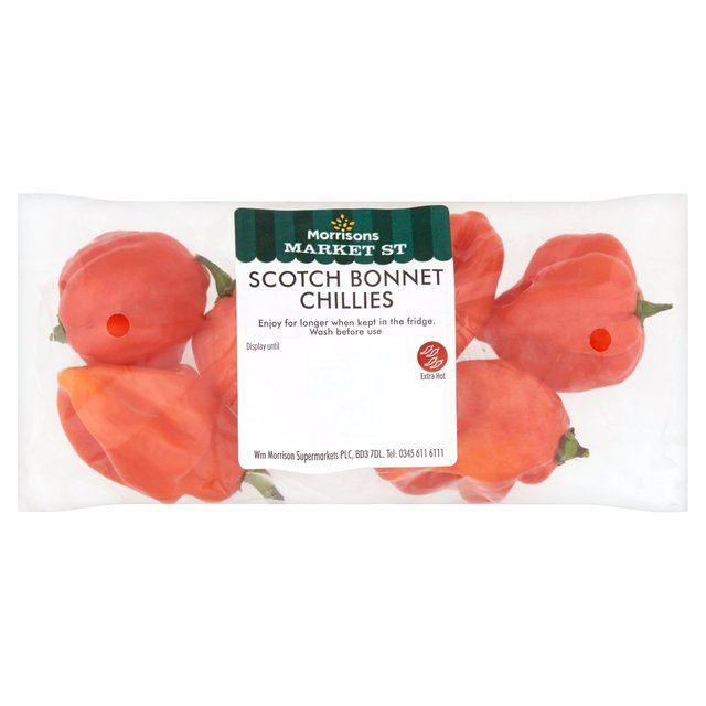 Morrisons Scotch Bonnet Chillies