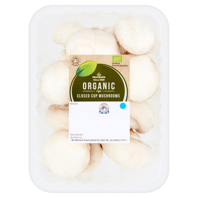 Morrisons Organic Mushrooms