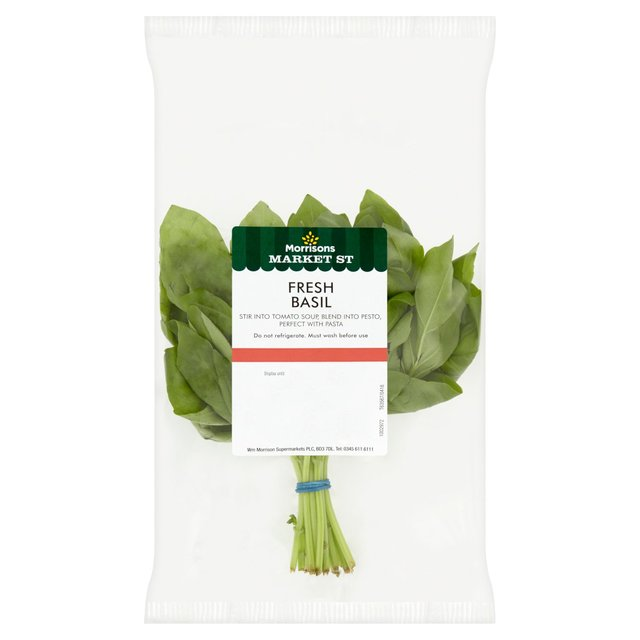 Morrisons Fresh Cut Basil