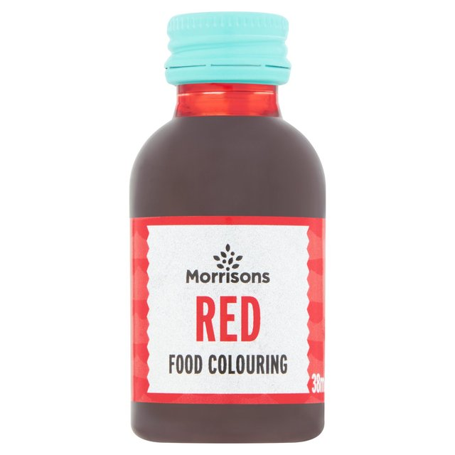 Morrisons Natural Red Food Colouring