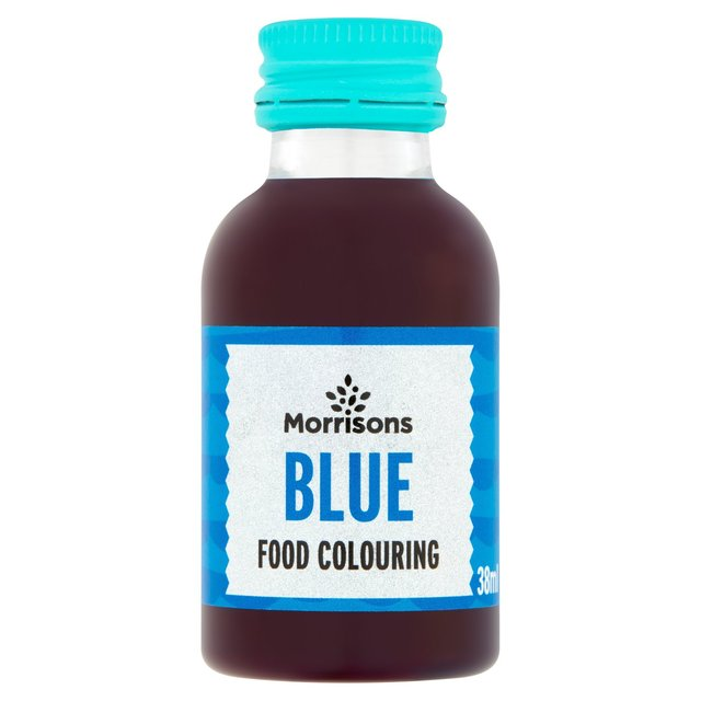 Morrisons: Morrisons Blue Food Colouring 38ml(Product ...
