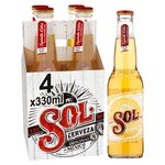 Sol Mexican Beer Bottles