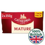 Cathedral City Mature Cheddar Twin Pack